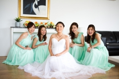 The girls- Before wedding