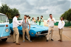 wedding party, Burleigh Surf Club