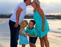 Currumbin Beach family photos