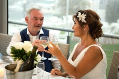 A toast- wedding photography Gold Coast