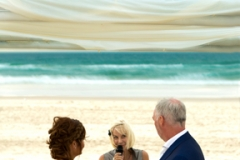 Main Beach wedding ceremony