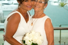 Bride and her mother-Gold Coast Wedding