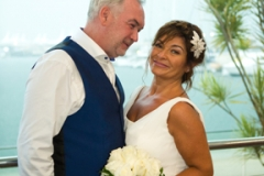 Bride and Groom-Southport Yacht Club