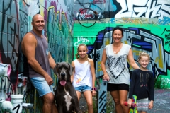 Family Portrait with their Dog-Gold Coast