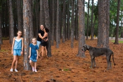 tall trees- Miami-family portrait photo shoot