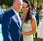 Bride and Groom together-AFFORDABLE WEDDING PHOTOGRAPHY GOLD COAST
