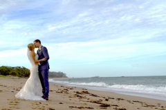 kissing on the beach-AFFORDABLE WEDDING PHOTOGRAPHY GOLD COAST