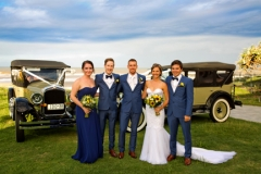 wedding images-The bridal party