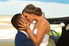 kissing the bride-wedding photos