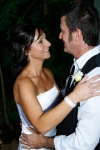 Carla and Bernie kissing, AFFORDABLE WEDDING PHOTOGRAPHY GOLD COAST