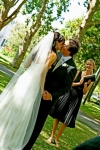 AFFORDABLE WEDDING PHOTOGRAPHY GOLD COAST-The kiss