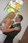 Danielle and Chris embrase, AFFORDABLE WEDDING PHOTOGRAPHY GOLD COAST