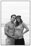 Pregnancy on the Beach