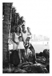 Black and white photo-Family