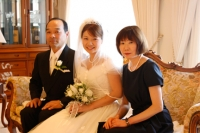 Minako with her parents, AFFORDABLE WEDDING PHOTOGRAPHY GOLD COAST