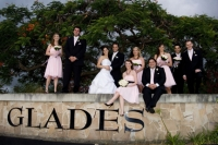 Bridal Party - on the Glades wall