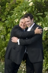 Andrew and his father, AFFORDABLE WEDDING PHOTOGRAPHY GOLD COAST