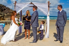 wedding ceremony, with celebrant Kate Stewart