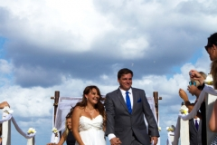 Reverse walk down the aisle-AFFORDABLE WEDDING PHOTOGRAPHY GOLD COAST