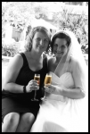 bride and matron of honour