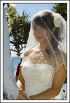 Wedding Photography-Burleigh Heads-close up of the bride