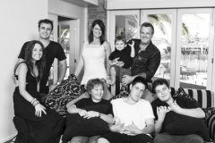 Large Family portrait Gold Coast