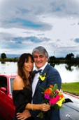 AFFORDABLE WEDDING PHOTOGRAPHY GOLD COAST-colourful photo with moody sky-Tweed River