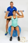 Professional Head Shots-personal trainer at work