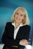 Business woman head shot
